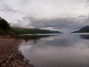 Photo: Loch Ness from West end (Fort Augustus)