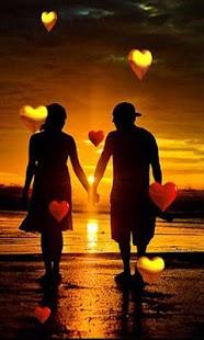 Sunset Hearts - náhled