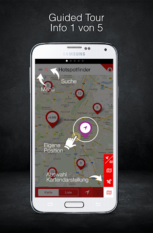 android Vodafone Hotspotfinder Screenshot 4