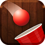 Red Ball Pong Shooter - Glass and Bottle Shooter