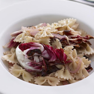 Farfalle with Radicchio and Pancetta