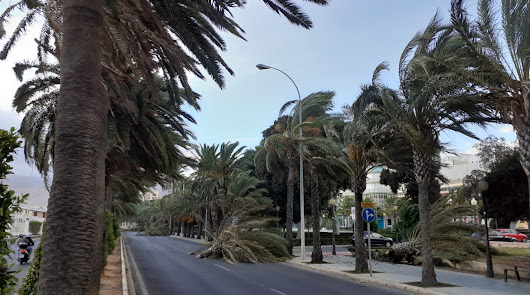 La borrasca 'Álex' deja en Almería dos heridos y decenas de incidencias