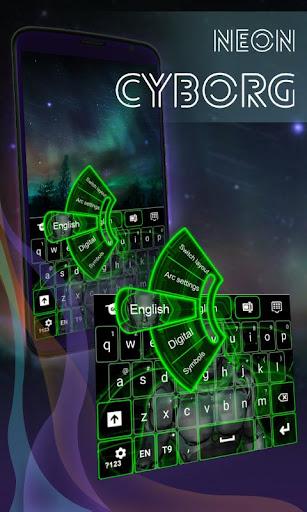 霓虹灯机器侠键盘