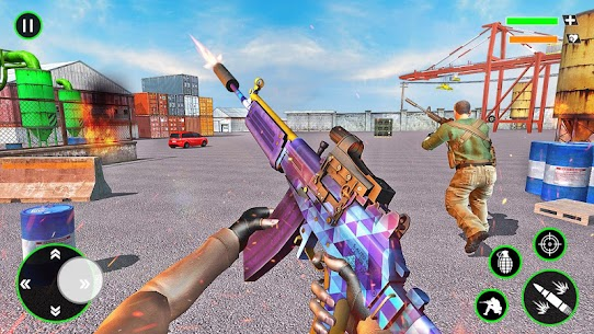 Gun Shooting Strike: Commando Games 4