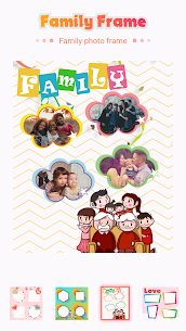 Family photo editor – picture frames 4