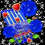 Sapphire Corundum Rose Keyboard Theme