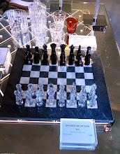 Photo: 7500 euro chess set