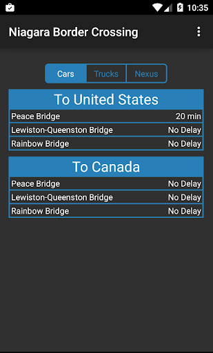 Niagara Border Crossing