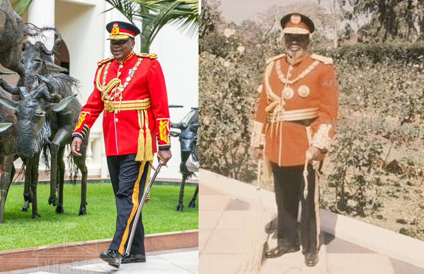Uhuru on his childhood dream: I wanted to be like my dad