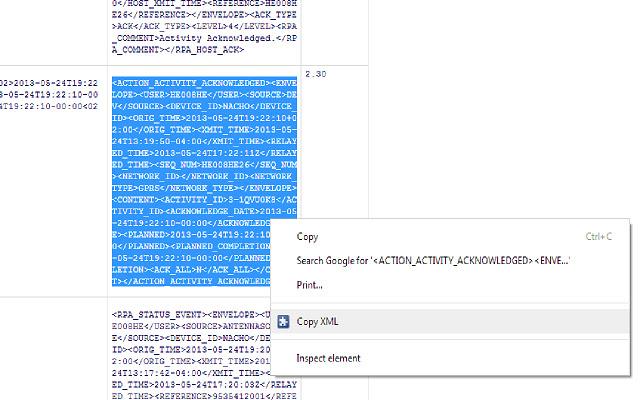 Copy XML