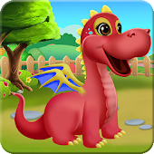 Princess Dragon Care & Play Android APK Download Free By Winkypinky