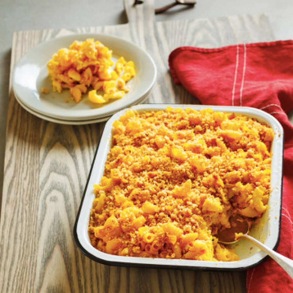 Beauty Food - Paired, Vegan and Gluten - Free Mac N Cheese