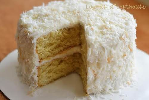 Click Here for Recipe: Coconut Cream Cake with Coconut Cream Cheese Frosting...