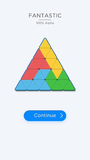 Triangle Tangram: The Block Puzzle Game!  captures d'u00e9cran 1