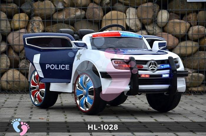 Xe ô tô điện cảnh sát HL-1028 6
