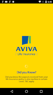 Aviva Life Insurance App Latest Version Download For Android and iPhone 1