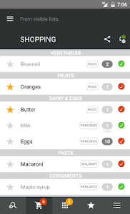 ini - Smart Shopping List screenshot 2