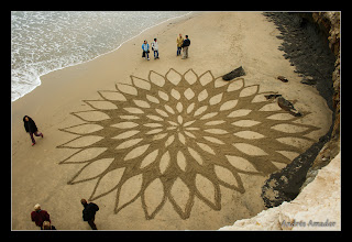 Photo: Playing with a spiral-based design. Santa Cruz, CA