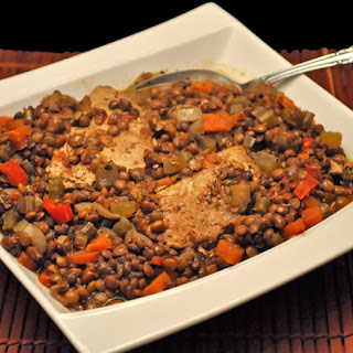Slow Cooker Pork and Lentil Stew
