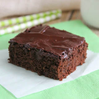 Chocolate Flax Brownies.
