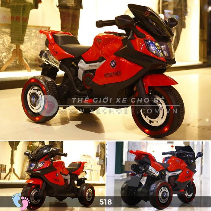 Xe mô tô điện thể thao cho bé 518 4
