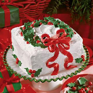 Holiday Lane Cake