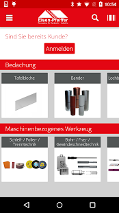 Eisen-Pfeiffer Shop App – Miniaturansicht des Screenshots