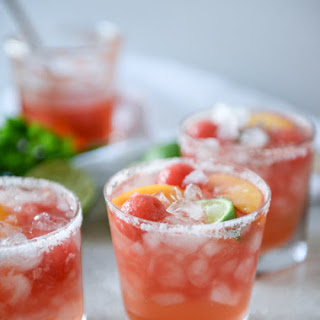 Watermelon Rosé Margaritas