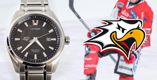 Kello on esillä huomisessa Sport-Pelicans -ottelussa Vaasa Arenalla.