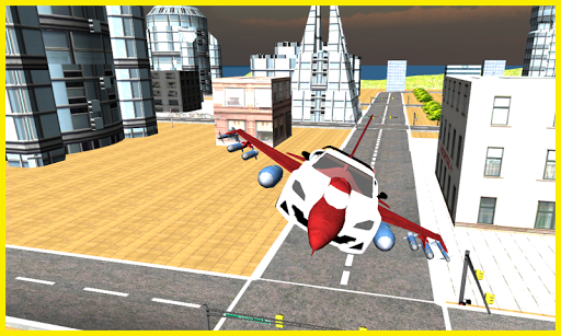 玩免費模擬APP|下載未来的F16飞行汽车免费 app不用錢|硬是要APP
