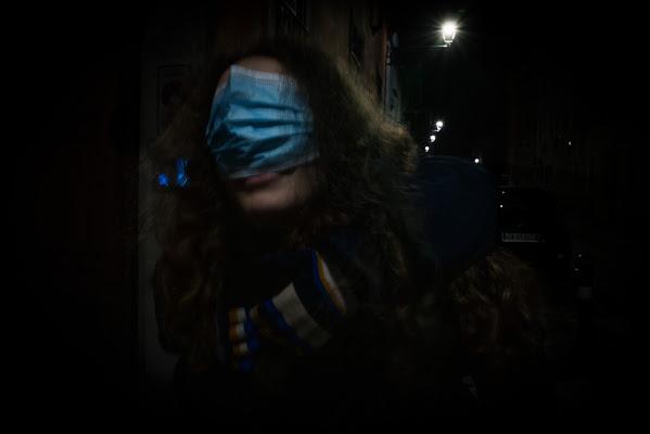 ricorda che la mascherina va sul naso... di Lucabanchini