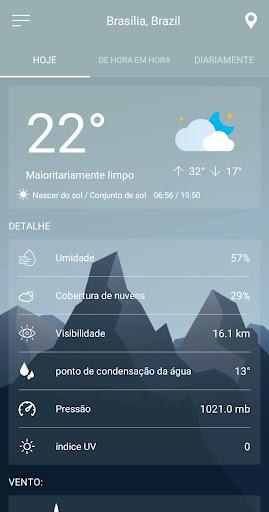 Previsão do tempo screenshot 1