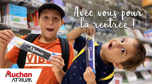 Rentrée des classes Auchan Atrium 2020