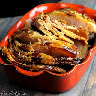 Crock Pot Brown Sugar Pineapple Ham!.