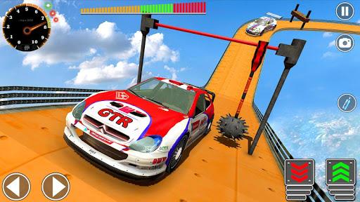 Impossible Mega Ramp Sports Car Stunt Drive 1.2 screenshots 5