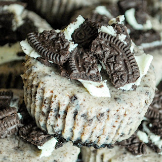 Mini Oreo Cheesecakes.