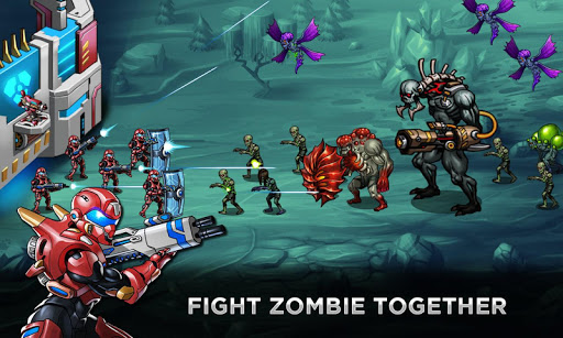 Robots Vs Zombies Attack 120.0.20190613 APK MOD screenshots 2