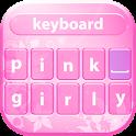 Pink Girly Keyboard Theme icon