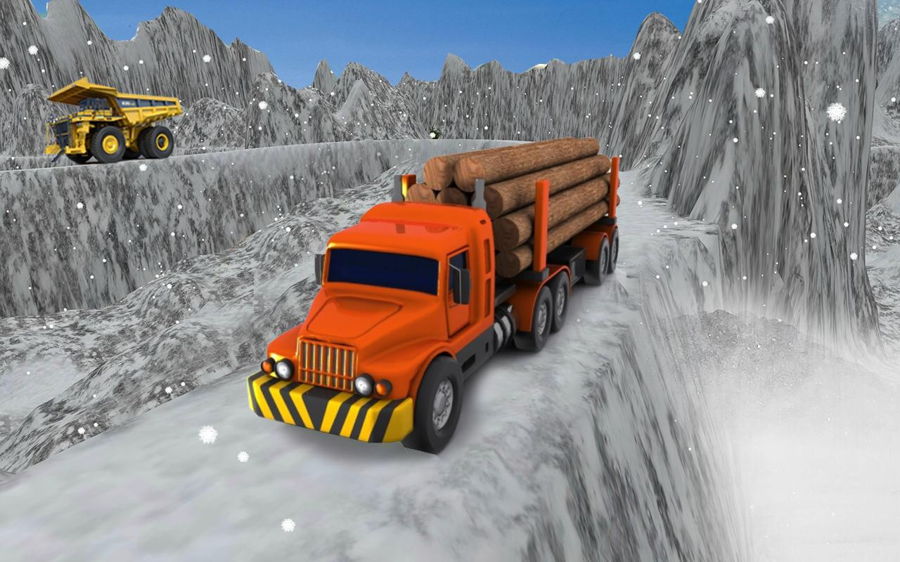Logging Truck Cargo Simulator: Hill Driver- screenshot