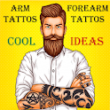 Arm & ForeArm Tattoos - Cool Ideas And Designs icon