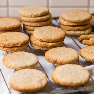 Coriander Ginger Cookies.