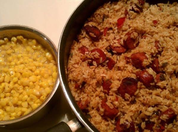 Sausage N Rice Recipe
