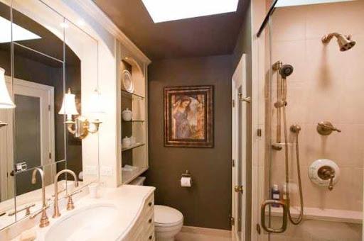 小型バスルームのデザインのアイデア