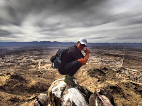 Photo: On the summit of Castle Rock