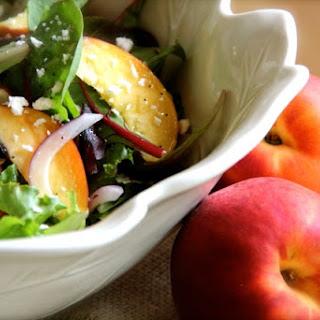 Summer Peach Salad.