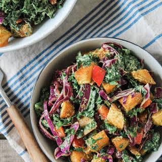Creamy Southwest Kale and Roasted Potato Salad.