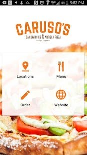 Caruso's Sandwiches & Pizza- screenshot thumbnail