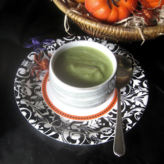 Slime Soup for Halloween (Broccoli Vichyssoise)