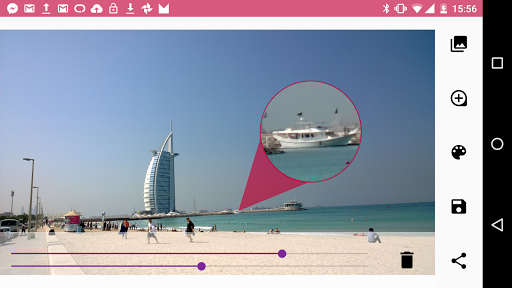Sozoom: add photo zoom balloon