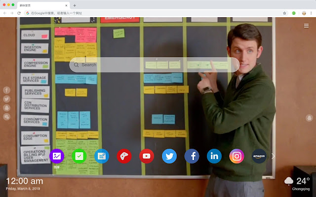 Silicon Valley HD New Tab Movies Themes